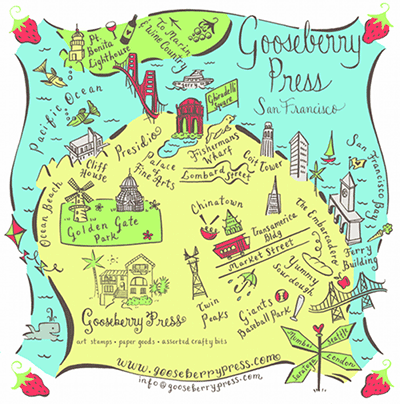 map by Gooseberry Press